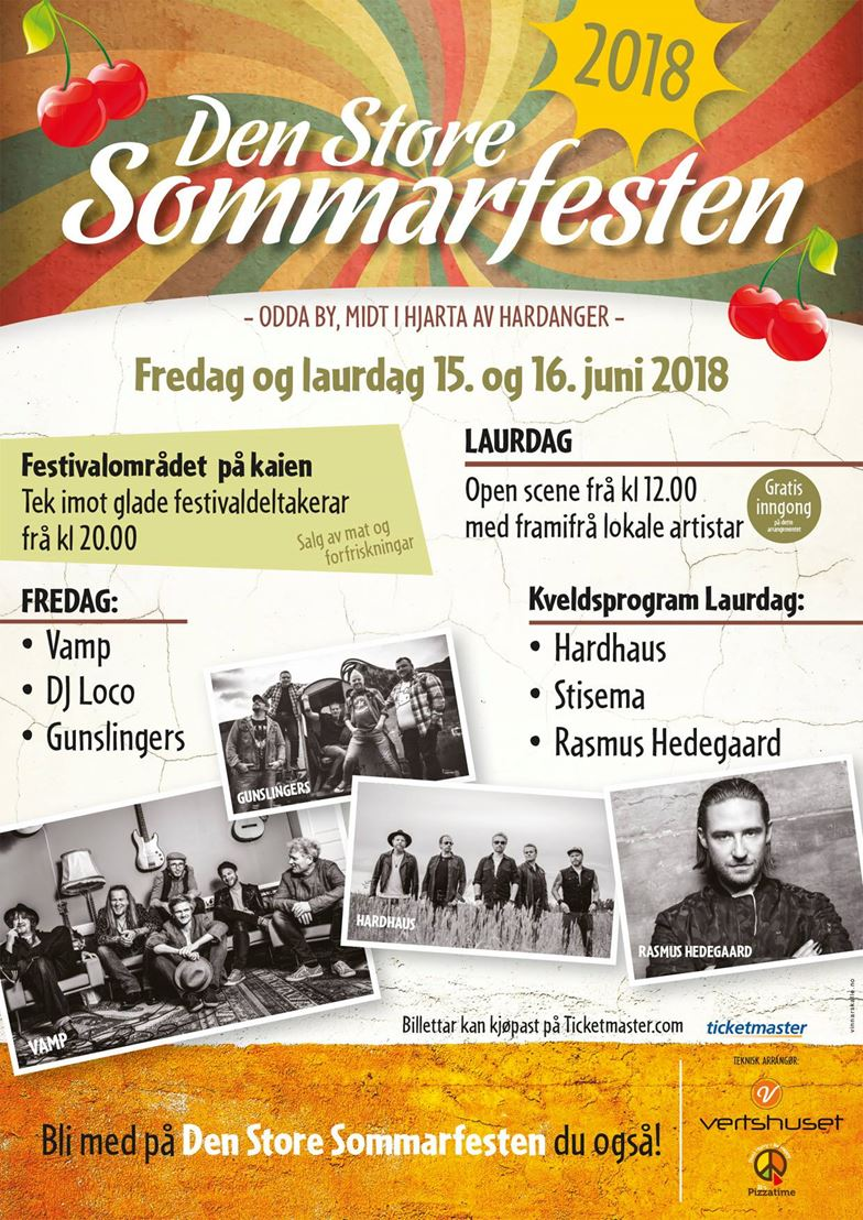 den store sommerfesten 2018 program